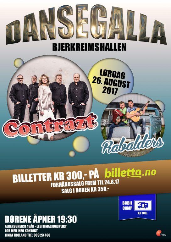 Dansegalla i Bjerkreimshallen @ Bjerkreimshallen |  |  |