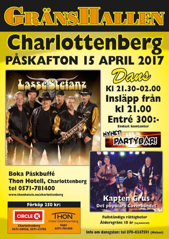 Påskeften danseparty @ Gränshallen Charlottenberg |  |  |