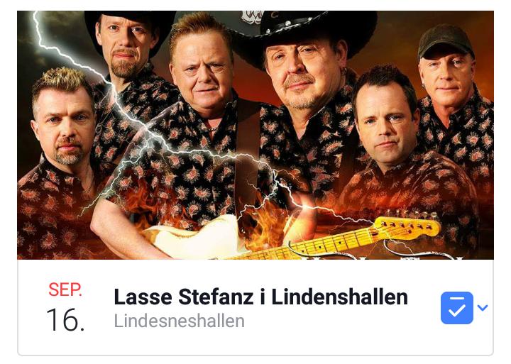 Lasse Stefanz i Lindesneshallen @ Lindesneshallen  |  |  |